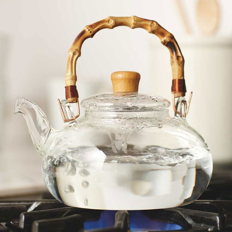 Buddha Belly Glass And Bamboo Tea Kettle Products I Love