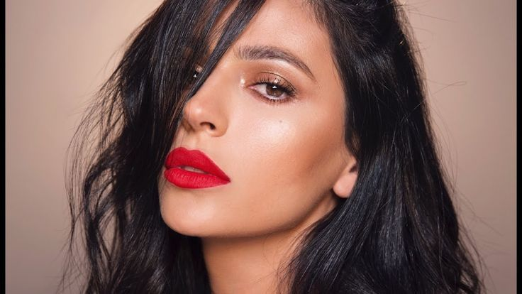 Photo of Requested! Here's how to create a bronze eye makeup look paired with red lip…,  #Bronze…