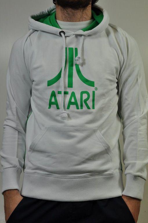 atari felpa  Felpa Fix Design, linea Atari; Bianca con disegno e interno ...