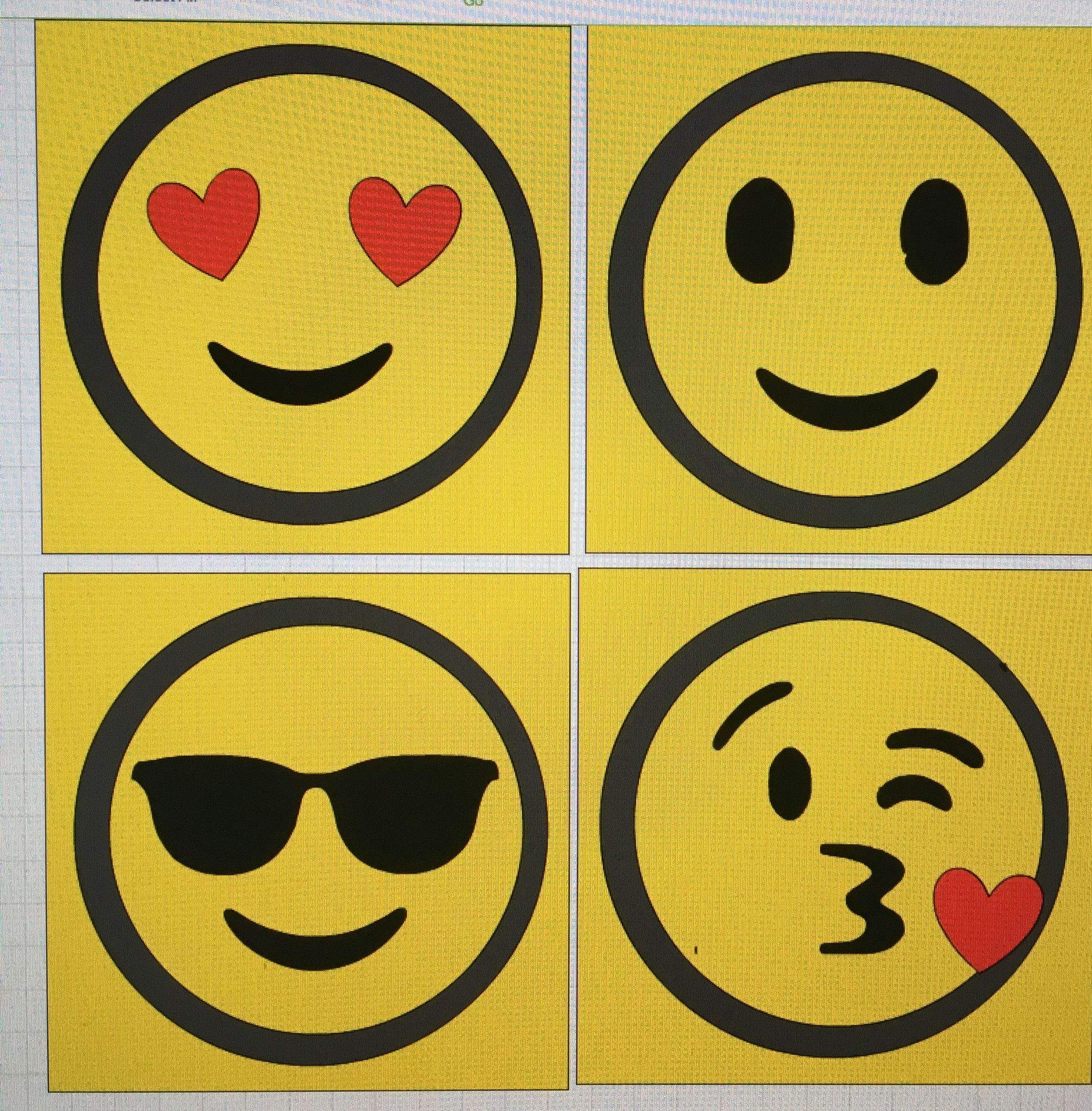 Modern Emoji Wall Art Images - Art & Wall Decor - hecatalog.info