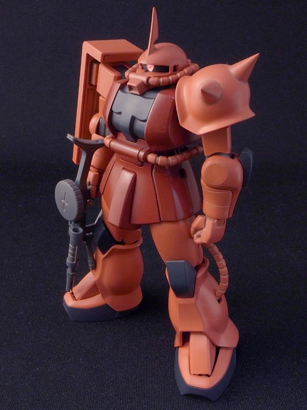 Char's Zaku Custom - HGUC 1/144 scale model
