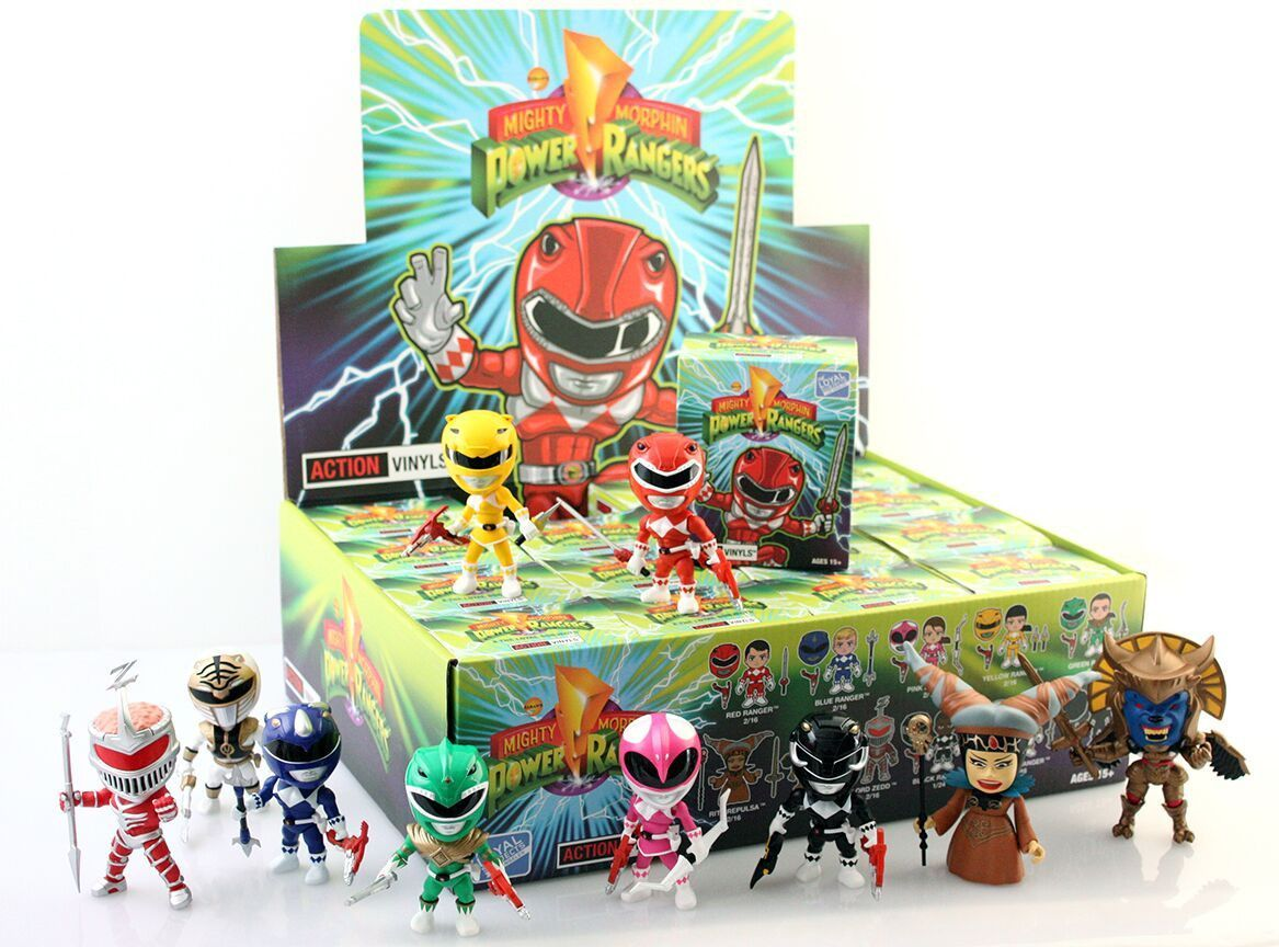 The Loyal Subjects Mighty Morphin Power Rangers Action Figurine en vinyle rose