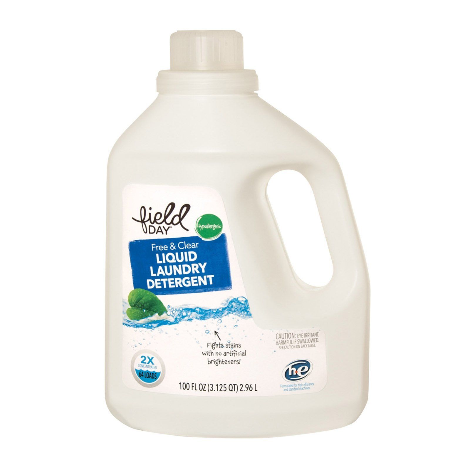Field Day Free And Clear Liquid Laundry Detergent Detergent
