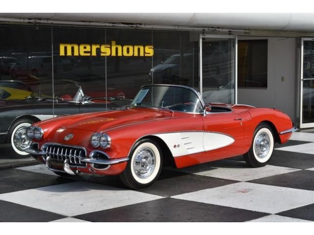 Awesome Amazing 1958 Chevrolet Corvette 1958 Chevrolet Corvette 4