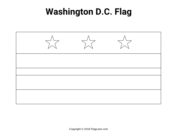 Free Printable Washington D C Flag Coloring Page Download It At Https Flaglane Com Coloring Page Washington Dc Flag Coloring Pages Dc Flag Coloring Pages