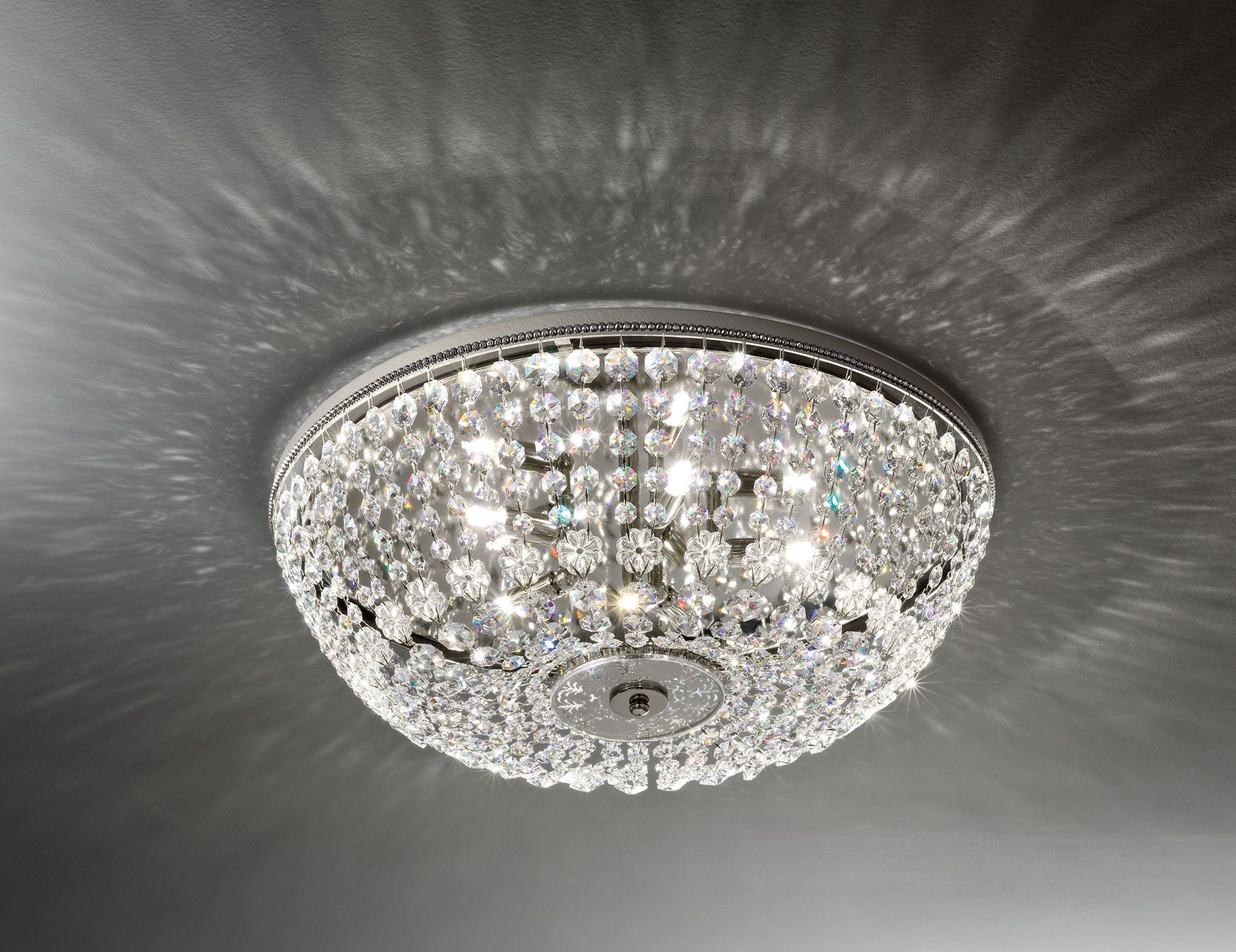 Swarovski Crystal Lighting Fixtures For Bathroom Upstairs