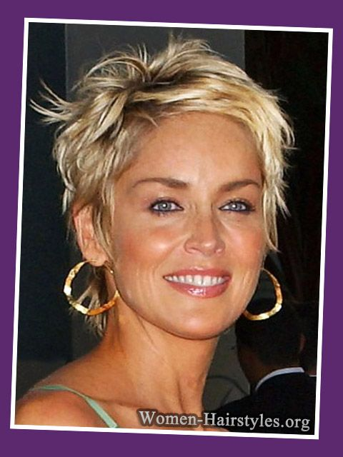 Hairstyles for over 50 with rectangular faces
