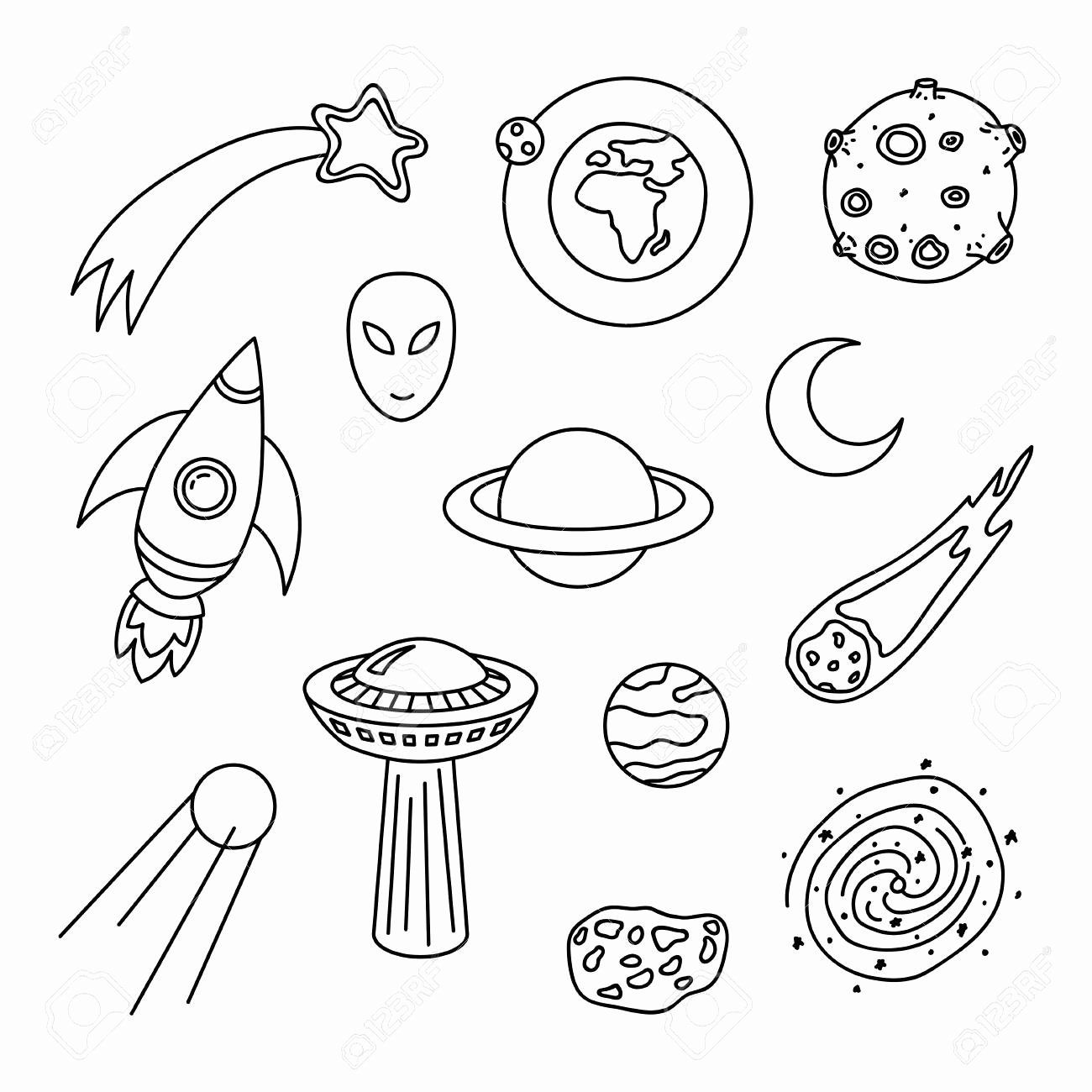 Space Mission Coloring Pages Lovely Planet Meteor Coloring Pages