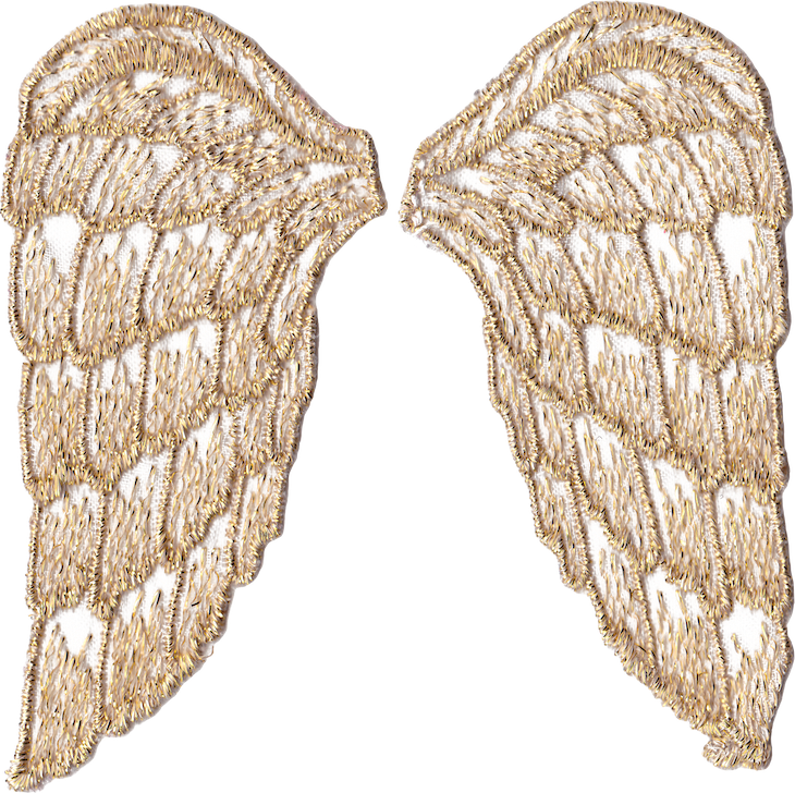 photo about Printable Angel Wings named Golden Angel Wings cost-free PNG-data files and printables
