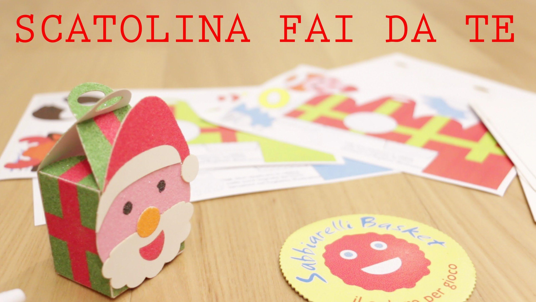 Scatoline di Natale di carta fai da te: idea regalo Sabbiarelli