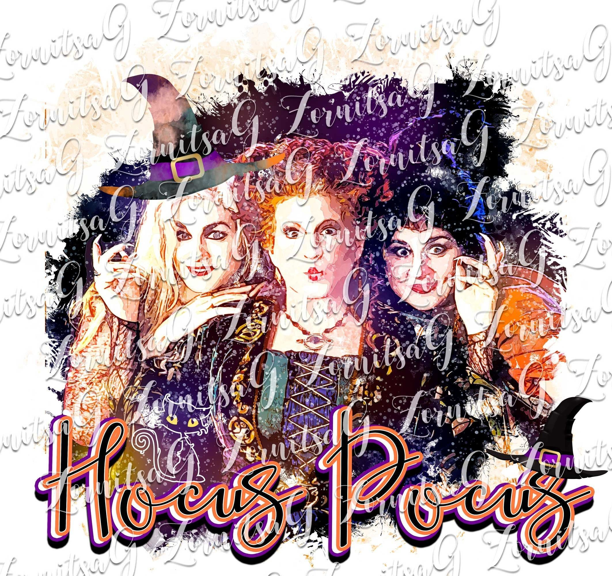 Hocus Pocus Png Sublimation Designs Download Https Etsy Me 2bksiiy Fallsublimation Sublimationdesigns Heat Halloween Clipart Witch Design Halloween Images