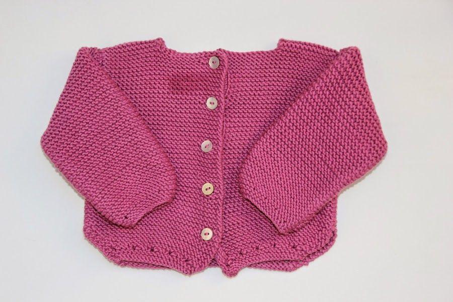 diy tejer sweater jersey bebe punto lana patrones gratis | Chaquetas ...