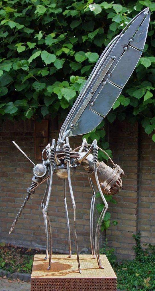 simple scrap metal art #Scrapmetalart | Металлические ...