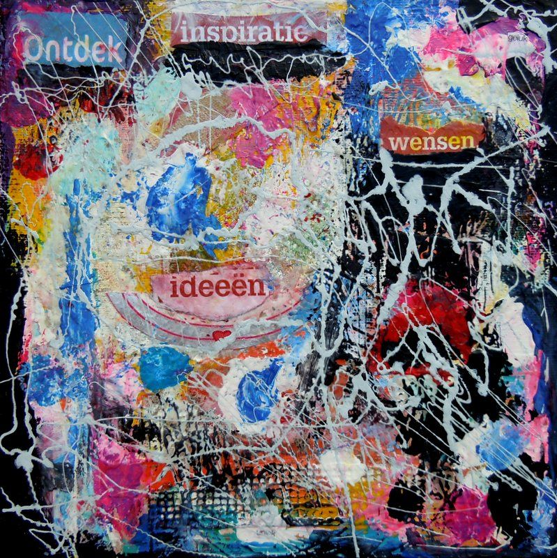 Wonderlijk Kunst-collage zelf maken: 10 tips om een kunst-collage te maken TM-18
