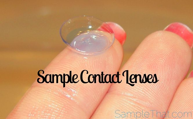 Sample Contact Lenses from Acuvue | Lenses, To get and Reading