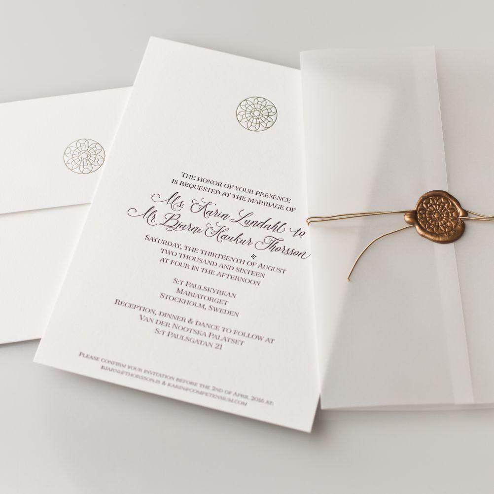 A wedding invitation | My graphic design work | Pinterest