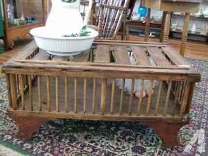 Antique Chicken Coop Coffee Table 225 Aurora Coffee Table