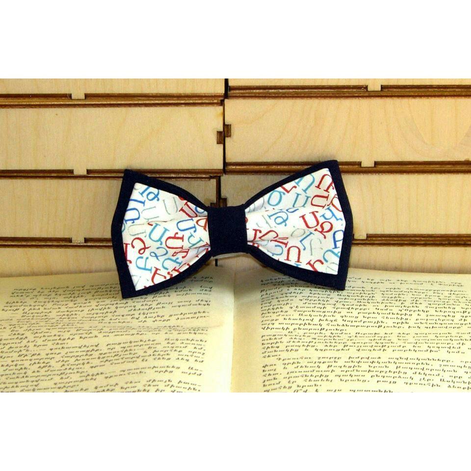Armenian Alphabet letters bow tie  http://onlinearmenianstore.com/product/armenian-letters-bow-tie/
