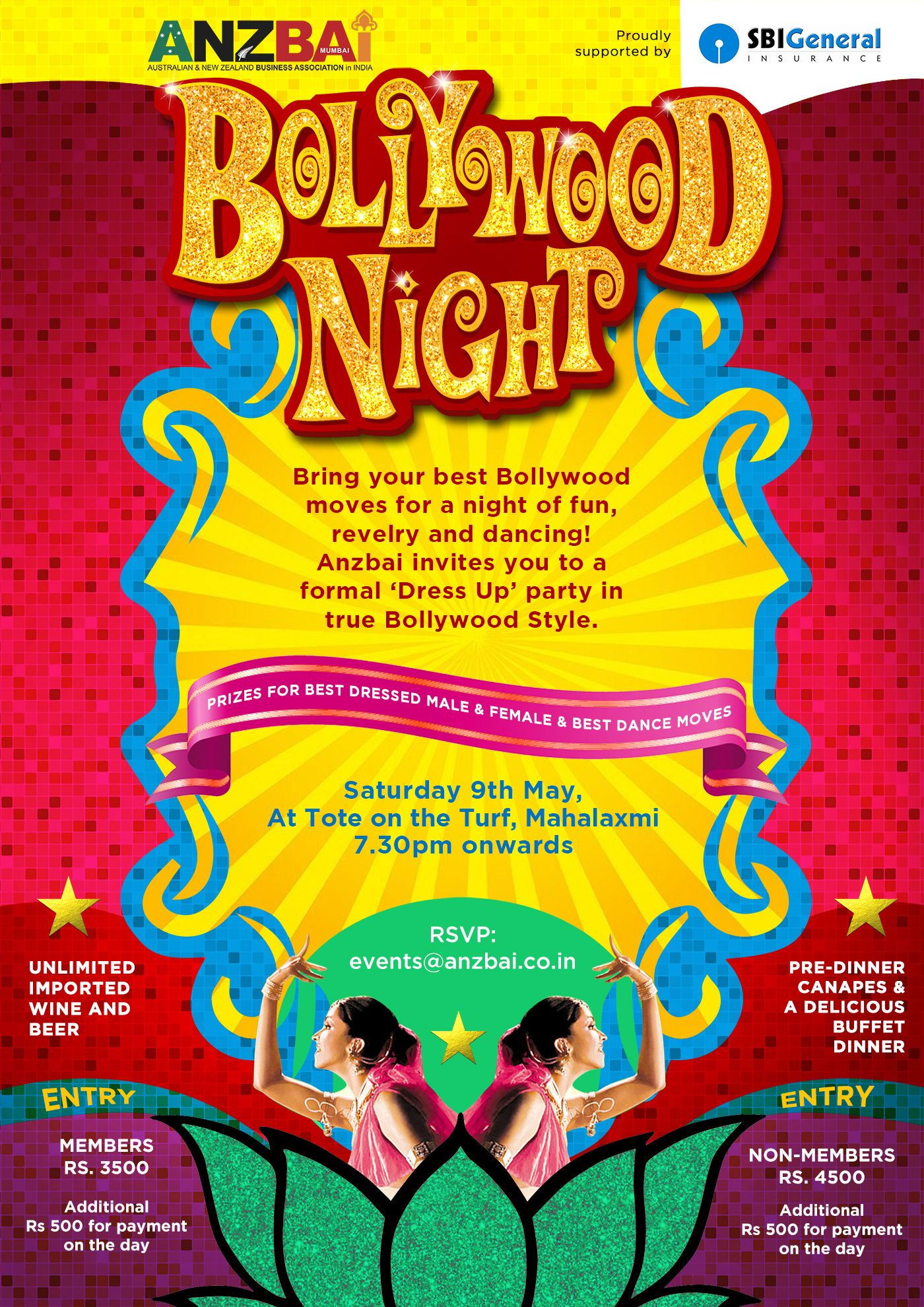 Magnificent Bollywood Party Invite Photos - Invitation Card Ideas ...
