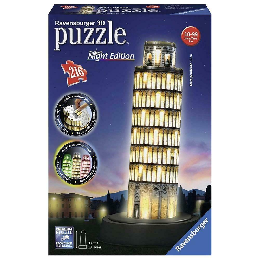 Ebay Sponsored Ravensburger 3d Puzzle Schiefer Turm Von Pisa Led Spielzeug Licht Light Puzzles Turm Von Pisa Schiefer Turm Von Pisa Pisa