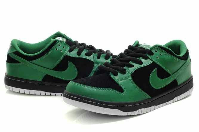 newest a8dd8 54b87 Nike Dunk SB 2012 New Mid Cut Mens Shoes sea green black white