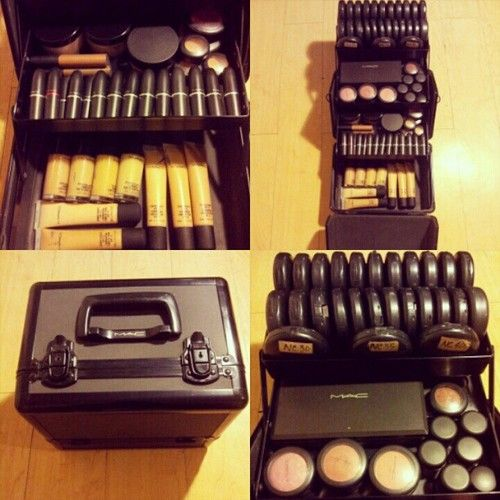 Makeup Case Love It I Have This From Mac Best Purchase Ever Makeup Artist Kit Artistry Makeup Makeup Kit