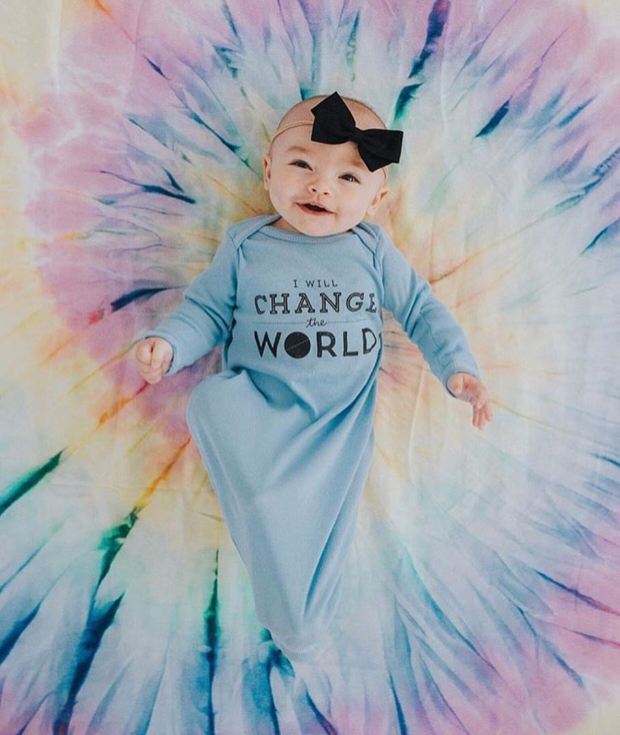 This WILL definitely be my child. I adore the onesie.