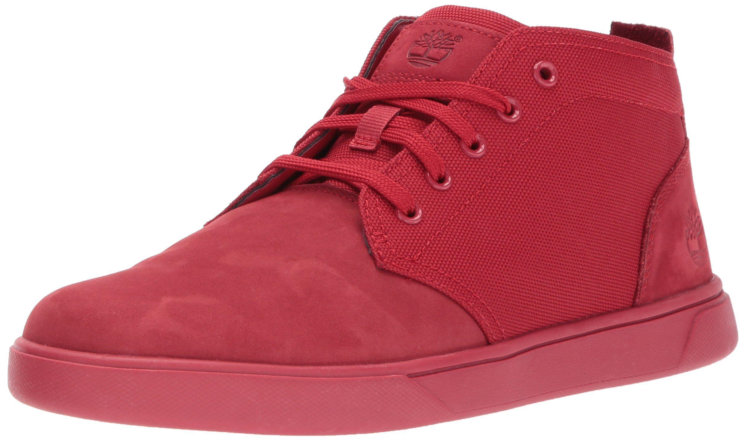 men's groveton ltt chukka leather & fabric sneaker