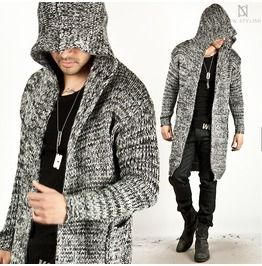 Avant Garde Knit Assassin Creed Hoodie Long Cardigan 39 75940