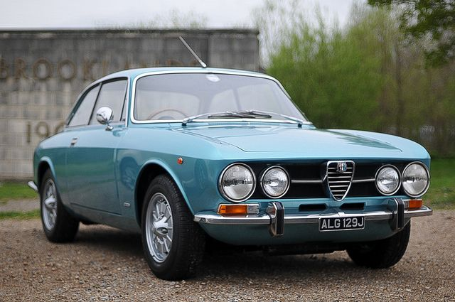 Gorgous Alfa at Brooklands Italia day by jamesst1968, via Flickr