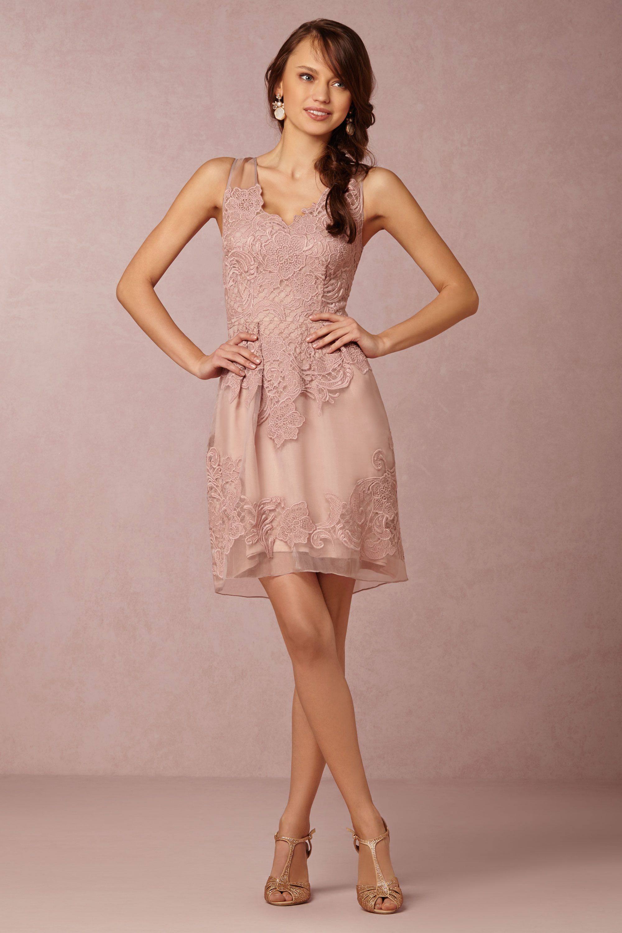 Gown dress for wedding party  Shop the Look Wedding Ideas with BHLDN  Wedding Style and Wedding