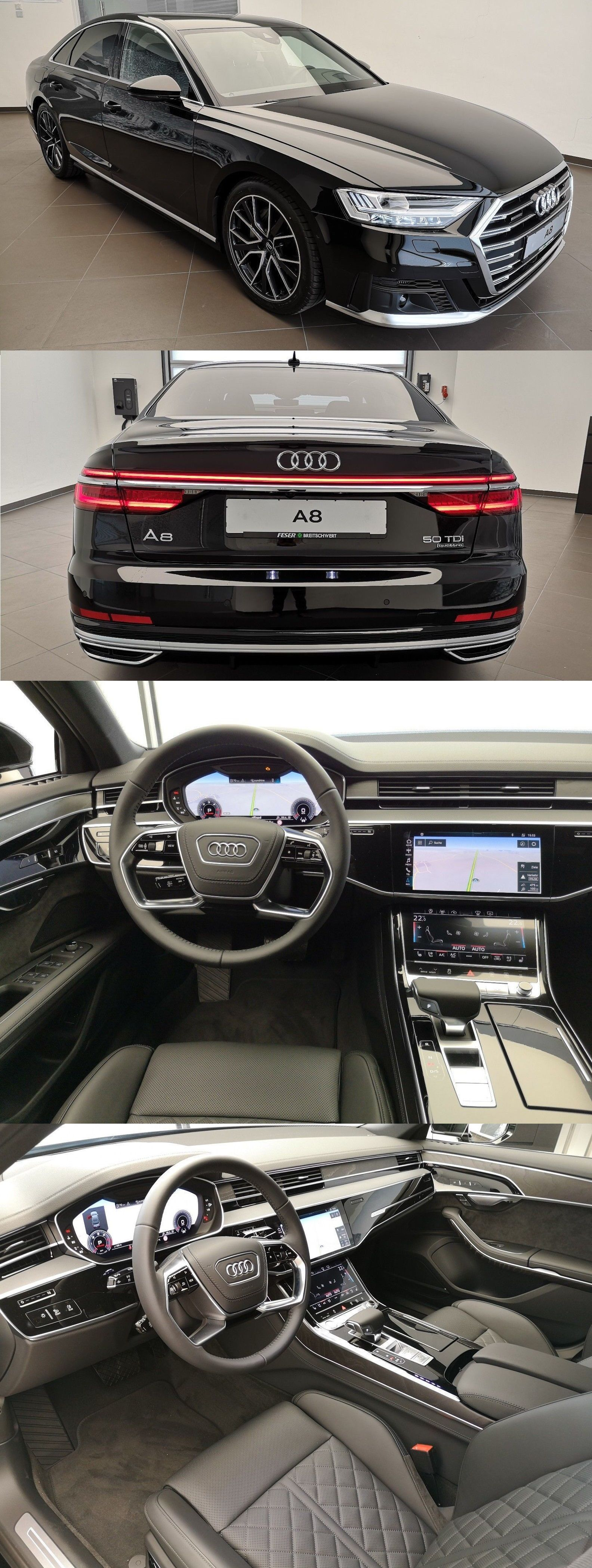 Audi A8 Uber Luxury We Ll Know Sedan Quattro All Wheel Drive And Powerful Engine A 2012 Originally At 80k With 372 Hp Today You Can Audi Cars Audi A8 Audi