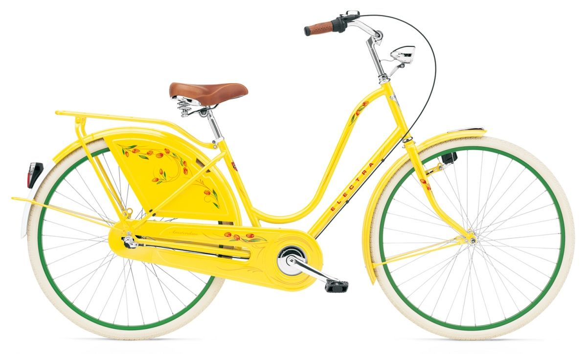 Electra Amsterdam Classic Tulip Women Beachcruiser Cruiser Bikes Electra Fahrrad
