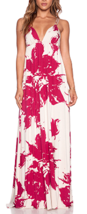 Maxi Dress Hawaiian Wedding
