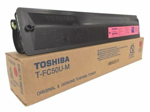 Toshiba TFC35M Magenta Toner Cartridge Genuine OEM Original
