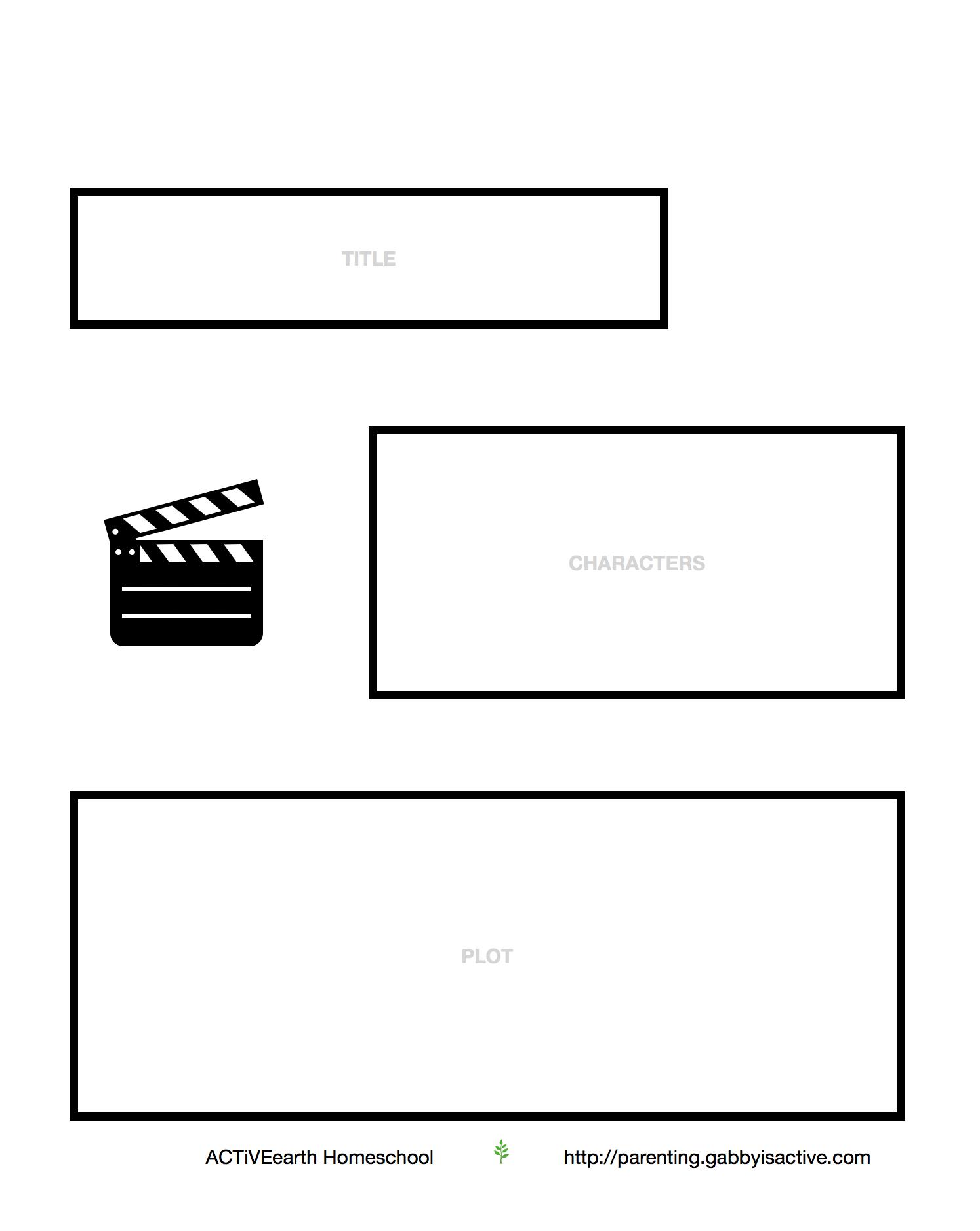 Film Review Worksheet For Kids Activeearth
