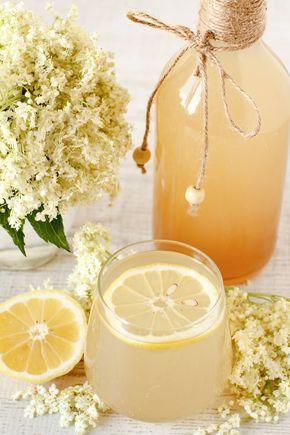 13 leckere Rezepte mit Holunderblüten #summerdinnerseasy