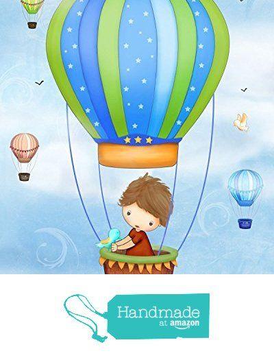 Boys Wall Art For Bedroom Hot Air Balloon Decor Baby Boy Nursery