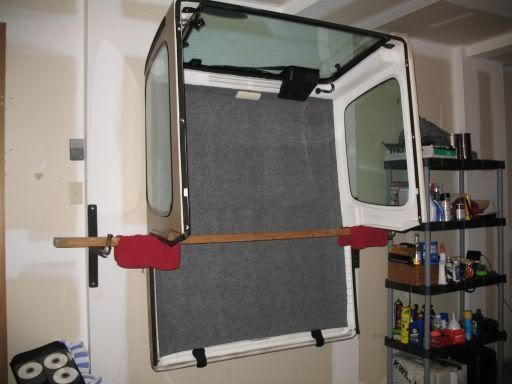 Also Works With Brackets That Are Designed To Store Extension Ladders Jeep Hardtop Storage Diy Home Decor Diy Jeep