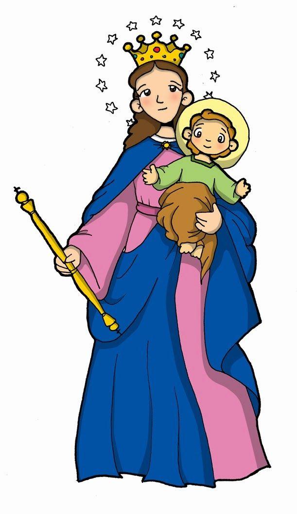 Gifs Y Fondos Pazenlatormenta Imagen De La Virgen Maria