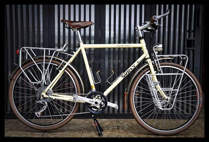Surly Long Haul Trucker In Indonesia Sepeda Balap Sepeda Pembalap
