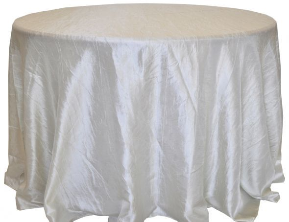 On Weddingbee Classified Crinkle Taffeta Linens In Ivory From Wedding Linens Direct 12 Piece To Purchase Used Ones Wedding Linens Taffeta Wedding