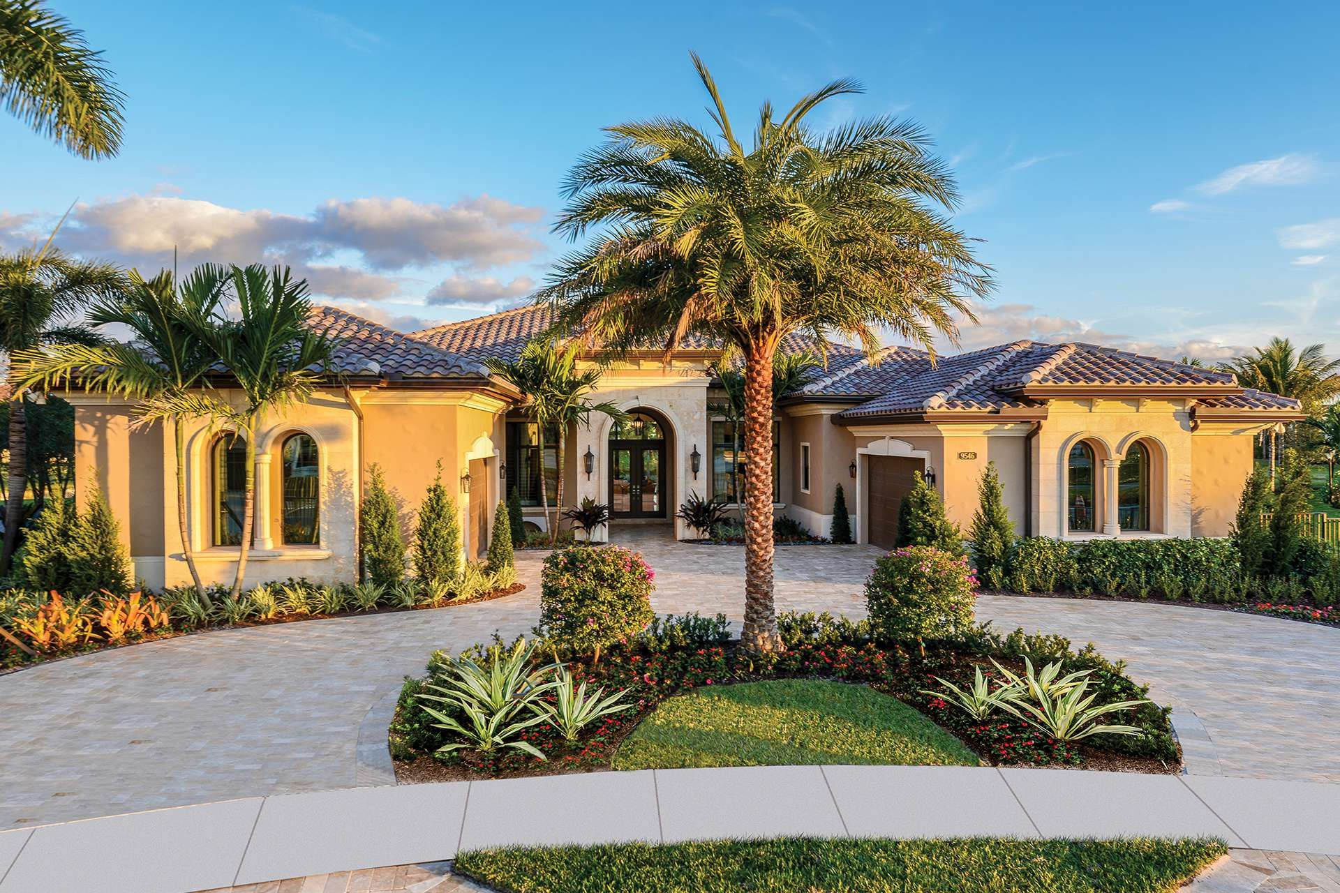 The Belvedere Plan In The Empire Collection At Boca Bridges In Boca Raton Florida Florida Real Estate Gl Homes Dream House Plans House Elevation Palazzo