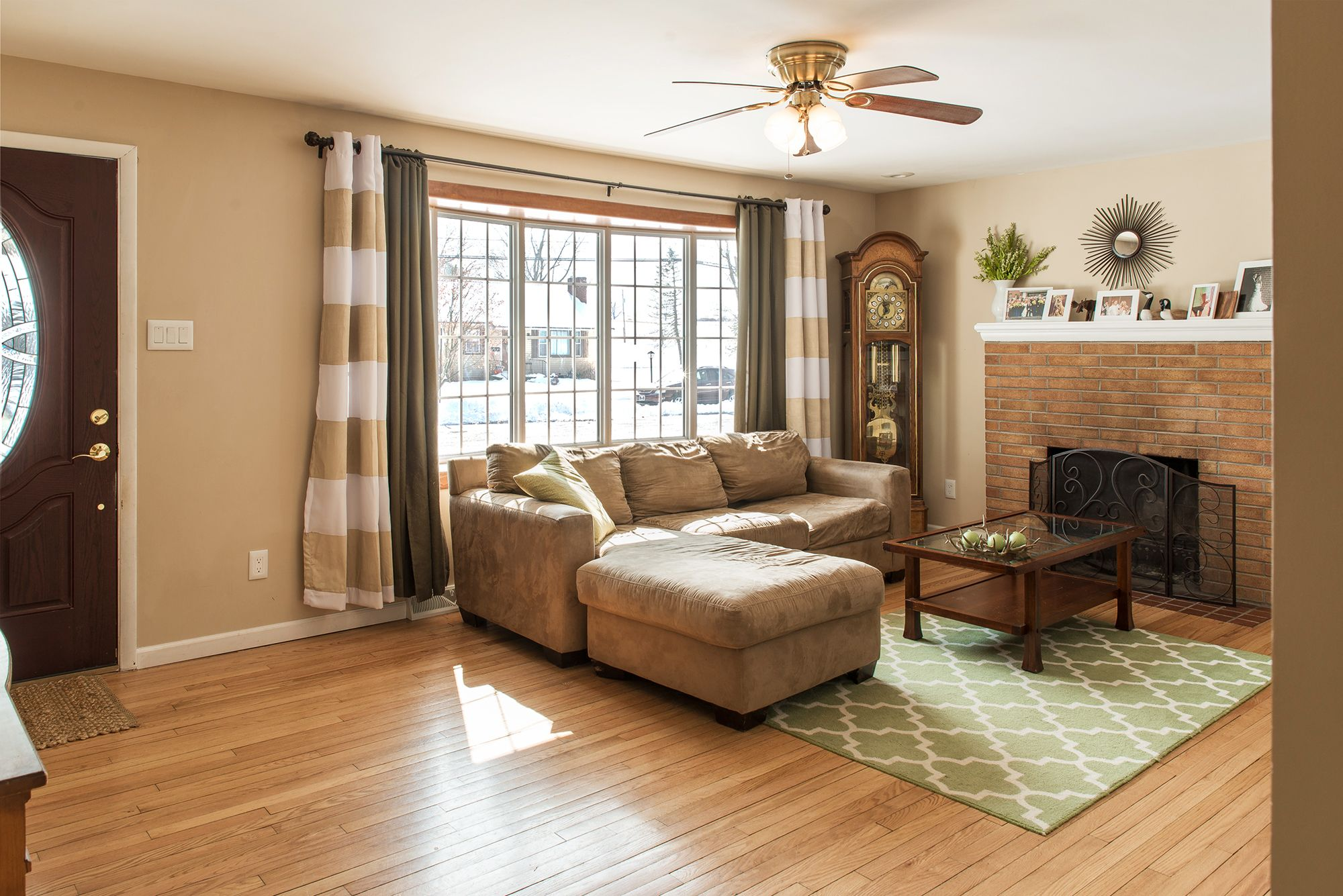 Amazing living room - this newly remodeled home features 3 ...