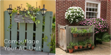 Don T Let Your Ac Unit Be An Eyesore Here Are A Few Ideas