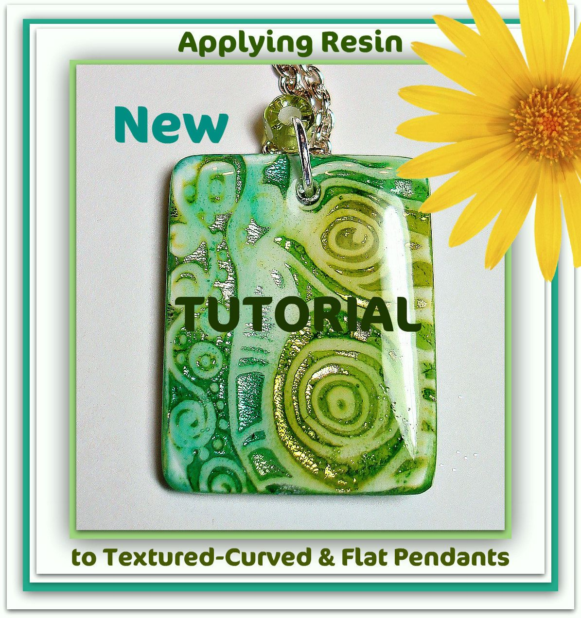 How to apply Resin to polymer clay pendants