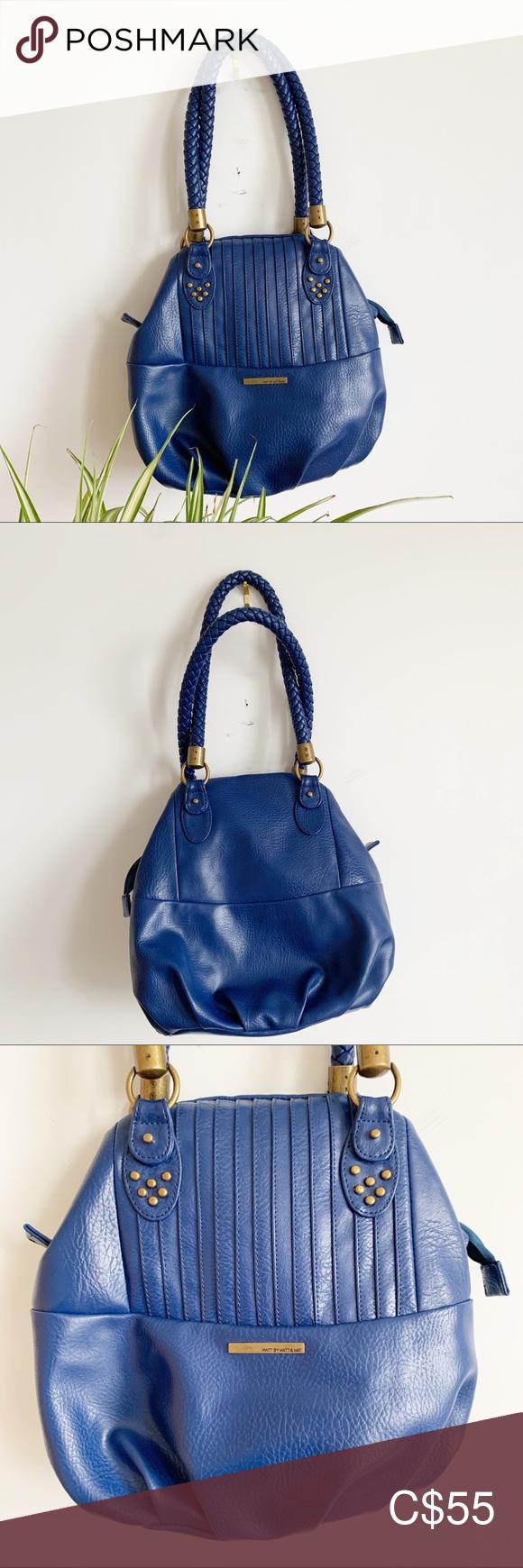 Matt & Nat Vegan Blue Shoulder Bag Purse