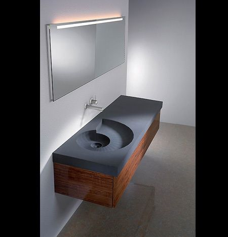 Interesting bathroom sink idea..