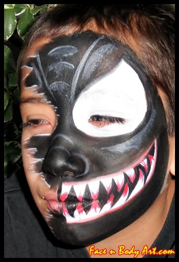 scary face paint google search - Scary Face Paint Ideas For Halloween