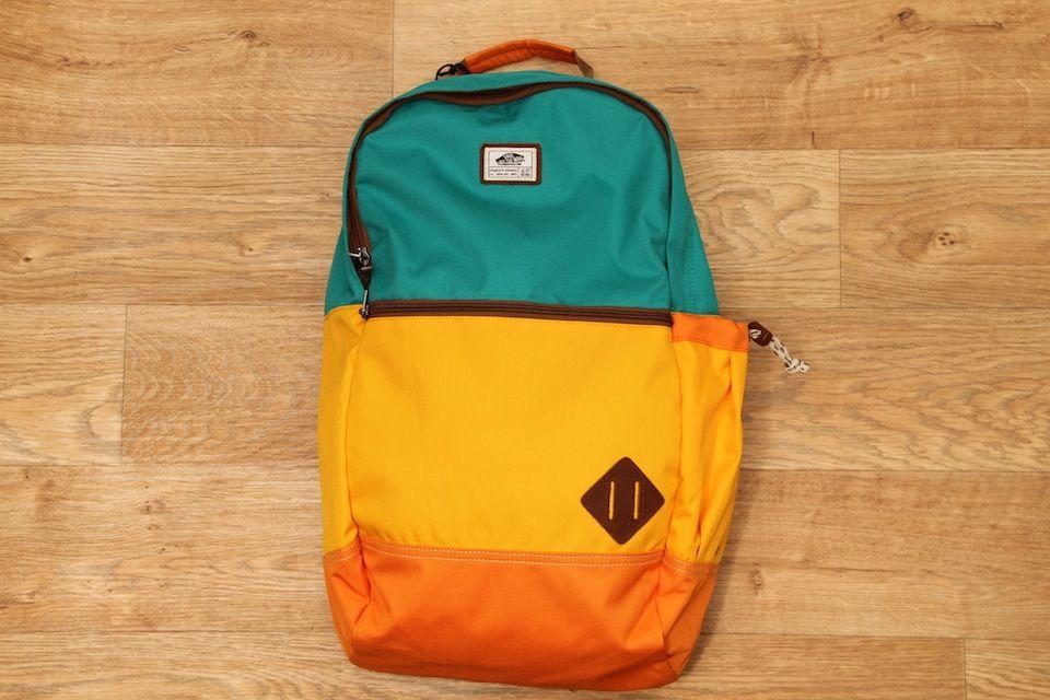 82018c3e5c Vans Van Doren II Backpack Blue Grass £34.95 ...